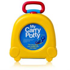 Review Toko Baby Carry Toilet Potty Kursi Portable Toilet Kursi Lipat Merek Baru Mudah Dibawa Mudah Dicuci Kuning