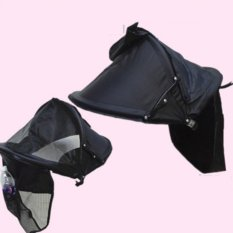 Iklan Baby Cart Tujuan Khusus Sunscreen Full Hood Multifungsi Ceiling Payung Tenda Intl