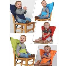 Baby Chair Portable Safety Brand Balita Bayi Sabuk Pengaman Sabuk Sabuk Folding Makan Tepung Produk Anak-anak Makan Lunch Harness untuk Kid Kursi -Intl