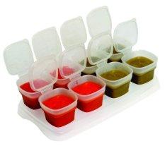 Harga Baby Cups Food Storage Monkizz Terbaik