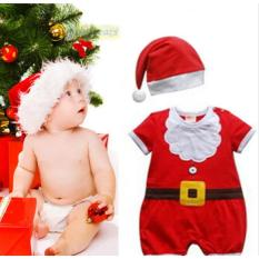 Baby Cute Santa Claus All Size - Setelan Baju Natal Bayi Kostum Natal Santa Untuk Bayi Jumper Bayi Jumper Natal Bayi Jumper Santa Lucu