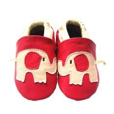 Baby Elephant Sol Lembut Kulit Bayi Pada Bayi Pertama Walker (Merah) 07f4c866db