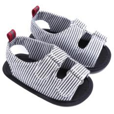 Berapa Harga Bayi Pertama Walker Sepatu Musim Panas Soft Sole Balita Sepatu Panjang Lengan Bergaris Bayi Baru Lahir Hitam Inch 6 12 Bulan Di Tiongkok
