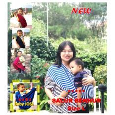 Review Pada Baby Jose Premium Q Gendongan Bayi Kaos L Salur Putih Benhur Geos Gendongan Bayi Selendang Bayi Praktis Simple Gak Ribet Padie