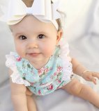 Beli Bayi Gilr One Pieces Renda Baju Monyet Floral Butterfly Lengan Jumpsuit Pakaian Sunsuit Pakaian Baru
