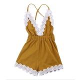 Jual Baby G*rl Bodysuit Romper Jumpsuit Outfits Lace Summer Clothes 90Cm Intl Termurah