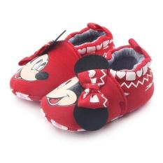 Bayi Gadis Kartun Lembut Elastis Sepatu 0339 Merah - Daftar Update ... f82bb8331c