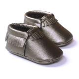Harga Baby Girls Boys Sepatu Sol Lembut Rumbai Kulit Anti Slip Sepatu 18 Bulan Bayi Balita Slip Pada Pertama Walkers Asli
