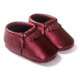 Tips Beli Baby Girls Boys Sepatu Sol Lembut Rumbai Kulit Anti Slip Sepatu 18 Bulan Bayi Balita Slip Pada Pertama Walkers