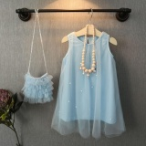 Jual Bayi Anak Perempuan Princess Pestadress Mutiara Tulle Gaun Formal Dress Sundress 1 7Y Intl Murah Tiongkok