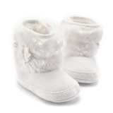 Spesifikasi Bayi Perempuan Sepatu Bot Salju Musim Dingin With Ikatan Simpul Putih
