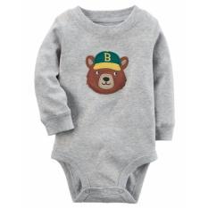 Baby Grow - Baju Bayi Anak Jumper Lengan Panjang 5in1 Cowok - 9M