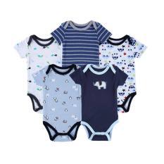 Ulasan Lengkap Baby Grow Baju Bayi Baju Anak Bodysuit Jumper Lengan Pendek 5In1 Boys
