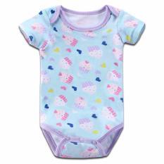 Beli Baby Grow Baju Bayi Baju Anak Bodysuit Jumper Lengan Pendek 5In1 Girls Dengan Kartu Kredit