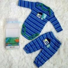 Baby Grow Setelan Jumper Dan Celana Panjang Cowok - 9 Bulan