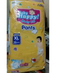 Harga Baby Happy Body Fit Pants Popok Anak Dan Bayi Size Xl 26 Pcs Fullset Murah