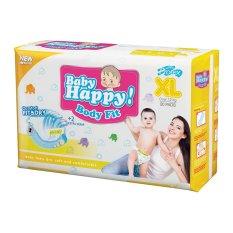 Promo Baby Happy Body Fit Popok Perekat Xl 20 Di Jawa Barat