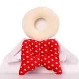 Harga Bayi Kepala Perlindungan Pad Balita Headrest Bantal Leher Bayi Cute Wings Nursing Drop Perlawanan Cushion Merah Satu Set