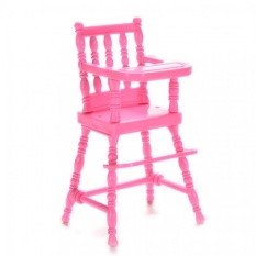 Baby High Chairs Dollhouse Furniture Toys Barbie Gifts - intl