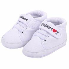 Sepatu Anak Laki-Laki Perempuyan Model Sneakers Sol Lembut Bahan Canvas