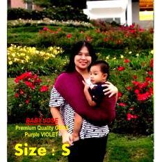Harga Baby Jose Premium Q Gendongan Bayi S Violet Selendang Bayi Gendongan Kaos Geos Simple Praktis Ga Ribet Padie Padie Asli
