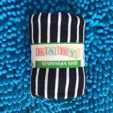 Jual Baby Jose Premium Q Gendongan Bayi Size S Black Strip Putih Selendang Bayi Perlengkapan Bayi Gendongan Kaos Geos Padie Branded Murah