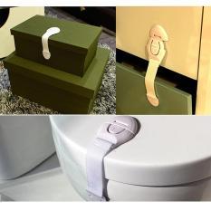 Bayi Aman untuk Anak Kunci Kulkas Toilet Pintu Laci Mesin Cuci Kunci Safety-Intl