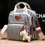 Spesifikasi New Year Baby Large Capacity And Fashion Multifunctional Diaper Backpack Diaper Mummy Bag Infant Diaper Nappy Changing