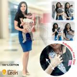 Beli Baby Leon Adjustable Gendongan Bayi Modern 100 Catton Katun Selendang Sling Practical Baby Carrier By 45 Gb Mick Head Baby Leon Online