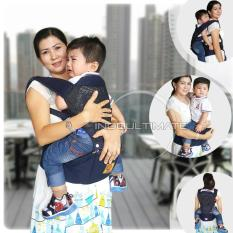 BABY LEON Gendongan Bayi Cotton with Hip Seat 5 in 1  Baby Carrier BY 43 GB
