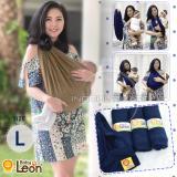 Spesifikasi Baby Leon Gendongan Bayi Kaos Geos Selendang Bayi Praktis By 44 Gb Polos Ukuran L Mocca Paling Bagus