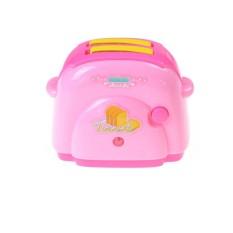 Bayi Mini Bread Toaster dengan Ringan Klasik Mainan Pretend Mainkan Mainan Dapur-Internasional