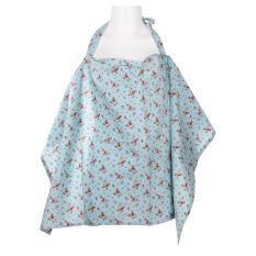 Harga Ibu Menyusui Asi Bayi Poncho Menutupi Bath Blue Cherry Termahal