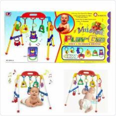 Harga Baby Musical Play Gym Musik Mainan Rattle Bayi Anak Playgym Online