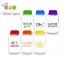 Jual Cepat Baby Pax Botol Kaca Asi Rainbow 150 Ml Isi 6 Pcs 1 Pack