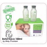 Jual Beli Baby Premium Botol Kaca Asi Bpa Free Kapasitas 100Ml Isi 12 Botol Di Dki Jakarta