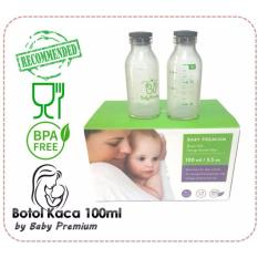 Beli Baby Premium Botol Kaca Asi Bpa Free Kapasitas 100Ml Isi 12 Botol Kredit
