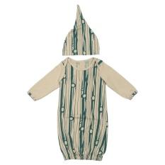 Bayi Murni Kapas Anti-Menendang Slumber Sleeping Bag Bedding Sacks Sleepsacks (brown) -3-6 Bulan-Intl By Welcomehome.