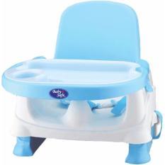 Baby Safe BO01B Folding Booster Seat Blue Kursi Meja Makan Anak Bayi Biru BabySafe