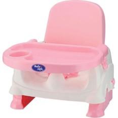 Baby Safe BO01P Folding Booster Seat Pink Kursi Meja Makan Anak Bayi Merah Muda BabySafe