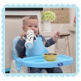 Kualitas Baby Safe Baby Booster Seat Blue Kursi Makan Bayi Anak Baby Safe Warna Biru Baby Safe