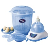Jual Baby Safe Digital Multifunction Lb 802 Blue Bottle Sterilizer Baby Safe