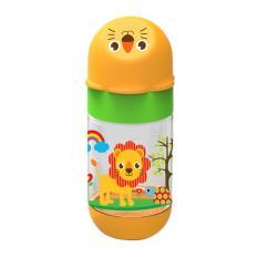 Baby Safe Feeding Bottle AP001 Animals 125ml Orange - Botol Susu Bayi BPA Free