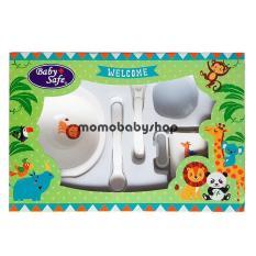 Harga Baby Safe Feeding Set Small Fs301 Perlengkapan Makan Bayi Paling Murah