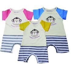 Baby Scots - Baju Bayi AD 089 Orange 0-3 Bulan