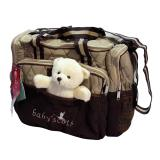 Spek Baby Scots Embroidery Diaper Bag
