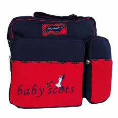 Spesifikasi Baby Scots Embroidery Medium Bag Ismb015 Merah Tas Medium Perlengkapan Bayi Yg Baik