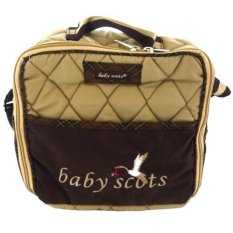 Jual Baby Scots Embroidery Simple Bag Coklat Banten