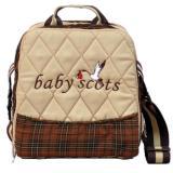 Toko Baby Scots Keep Warm Embroidery Bag Coklat Isedb019 Tas Perlengkapan Bayi Baby Scots Di Jawa Barat