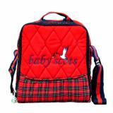 Jual Baby Scots Keep Warm Embroidery Bag Merah Isedb019 Tas Perlengkapan Bayi Murah Indonesia